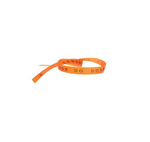Senhor do Bonfim wish ribbon Laranjao
